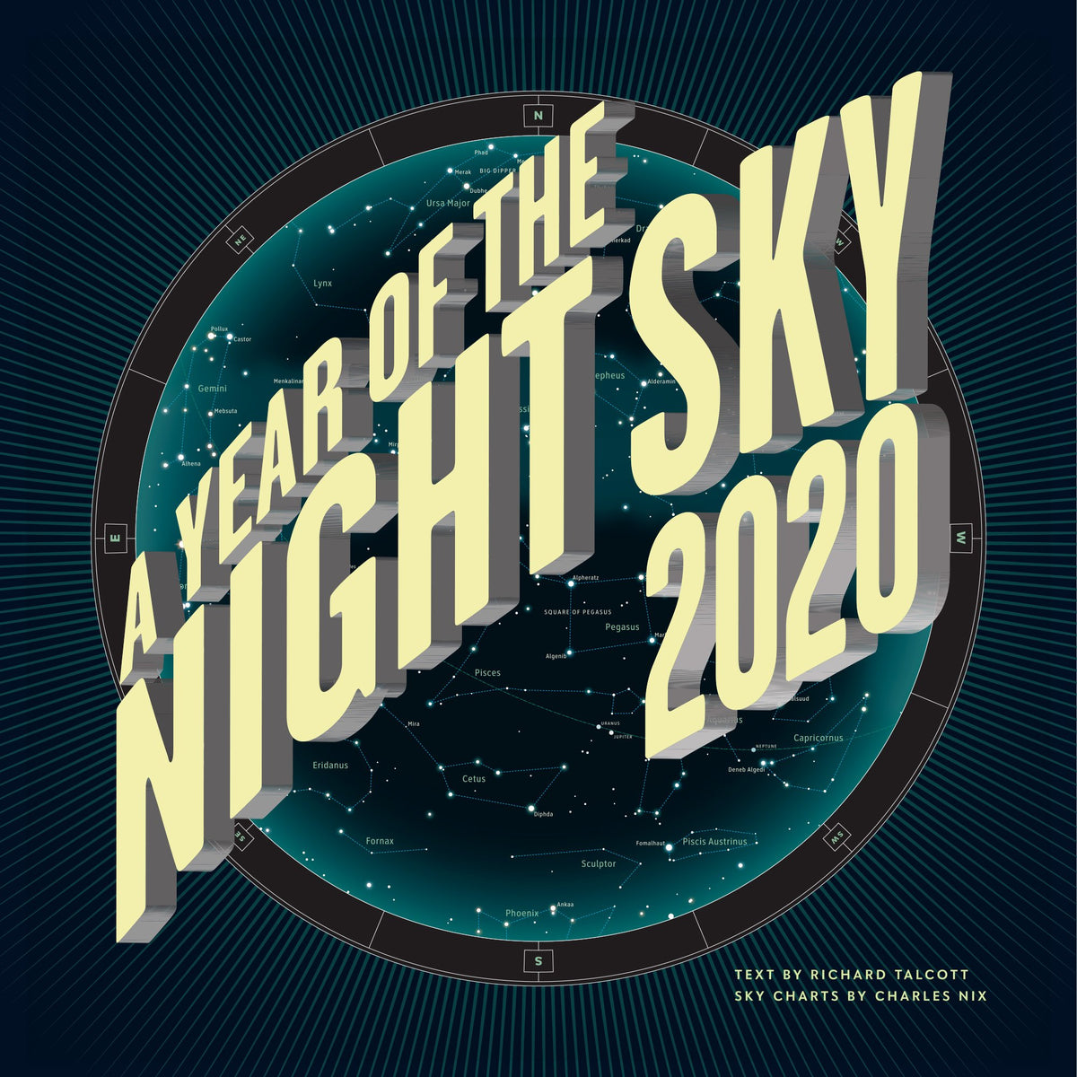 2020 A Year of the Night Sky Wall Calendar