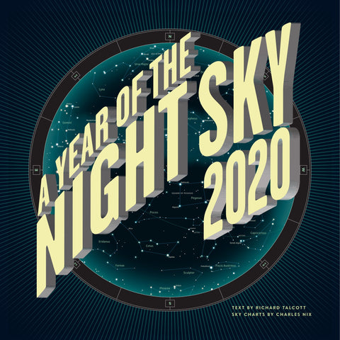 2020 A Year of the Night Sky Wall Calendar - Ziga Media