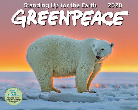 2020 Greenpeace Wall Calendar - Ziga Media
