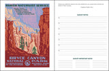 "National Parks Poster Art of The WPA Monthly Planner 2021, 7.5"" x 9.75"" Spiral Bound"