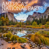 "America's National Parks Mini Wall Calendar 2021, 7"" x 7"""