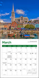 "Ireland Mini Wall Calendar 2021, 7"" x 7"""