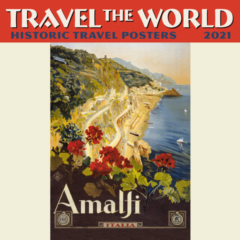 "Travel the World Mini Wall Calendar 2021, 7"" x 7"""