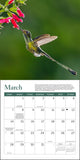 "WWF Hummingbirds Mini Wall Calendar 2021, 7"" x 7"""