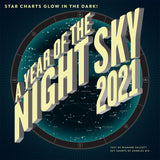 2021 A Year of the Night Sky Wall Calendar & Night Sky Flexi Journal Sale-Priced BUNDLE $23.99 (regular retail $28.98)