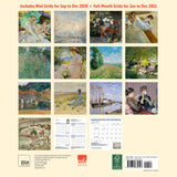 MFA, Boston, Great Impressionists Wall Calendar 2021, Monthly January-December 12'' x 12""