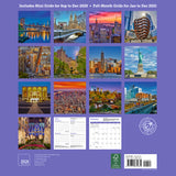 New York Wall Calendar 2021, Monthly January-December 12'' x 12""