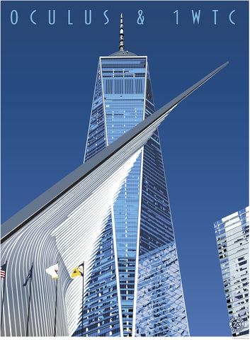Oculus & 1 World Trade Center Print