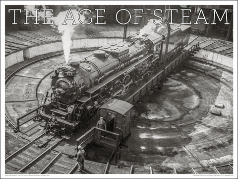Nickle Plate Road No. 767 The Age of Steam 24 x 18-inch poster
