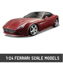 1:24 Bburago Ferrari Scale Models - Hobbytoys.co
