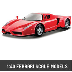 1:43 Bburago Ferrari Diecast Scale Models - Hobbytoys.co