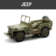 Jeep Diecast Scale Models - Hobbytoys.co