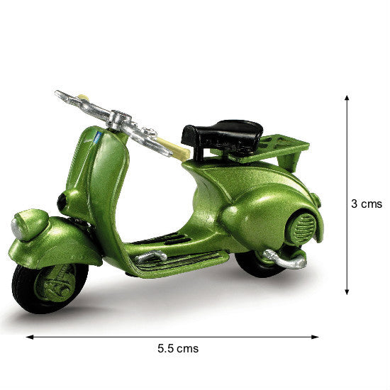 New-Ray Vespa 125 1948 Die-cast Scooter Scale Model - Hobbytoys
