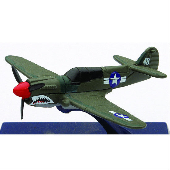 P-40N Warhawk New-Ray Sky Pilot Aeroplane Model Aviation Collectible - Hobbytoys - 1