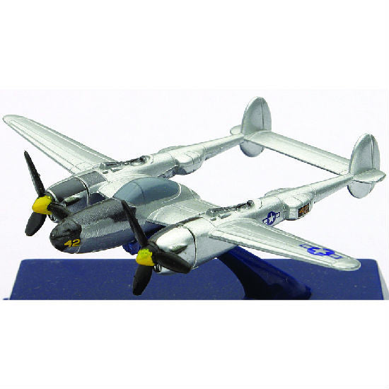 P-38 Lightning New-Ray Sky Pilot Aeroplane Model Aviation Collectible - Hobbytoys - 1