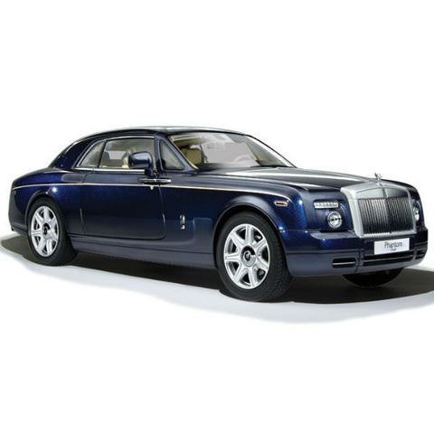 Kyosho Rolls Royce Phantom Coupe 1/18 Peacock Blue