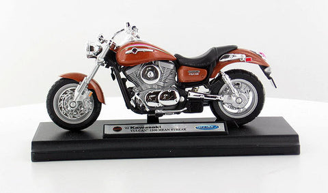 Welly KAWASAKI 2002 VULCAN 1500 MEAN STREAK Bike 1/18