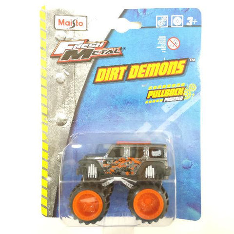 Maisto Fresh Metal Dirt Demons 2004 Jeep Rescue Concept