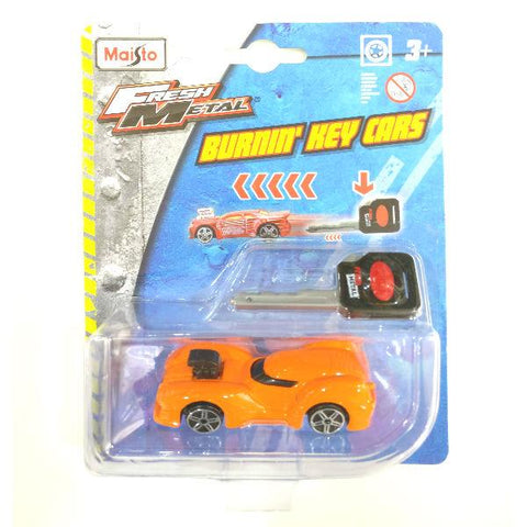Maisto Fresh Metal Burnin' Key Cars Nite Crawler