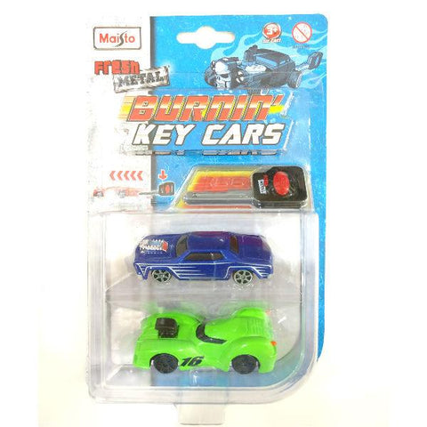 Maisto Fresh Metal Burnin' Key Cars Nite Crawler and Rosewood