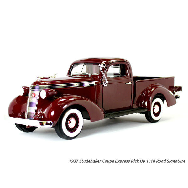 Road Signature 1937 Studebaker Coupe Express Pickup 1/18 Diecast Model Car - Hobbytoys - 1