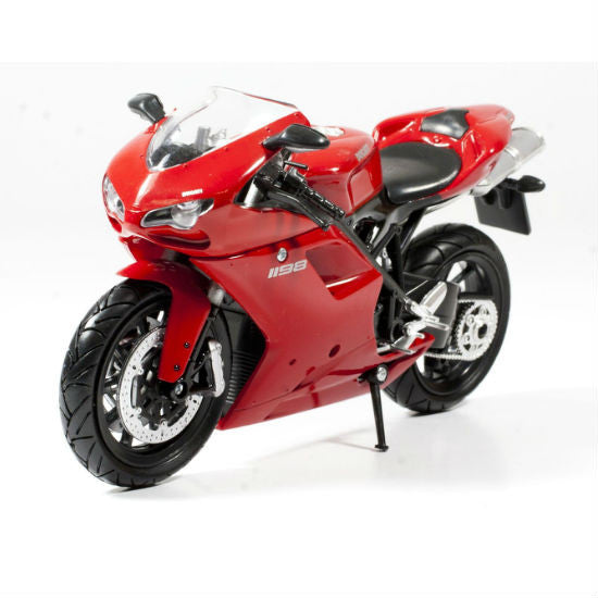 Ducati 1198 New-Ray 1:12 Diecast Motorcycle Model - Hobbytoys - 1