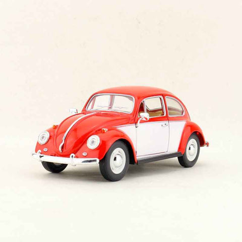 Kinsmart 1967 Volkswagen Classical Beetle Car 1/24 Red