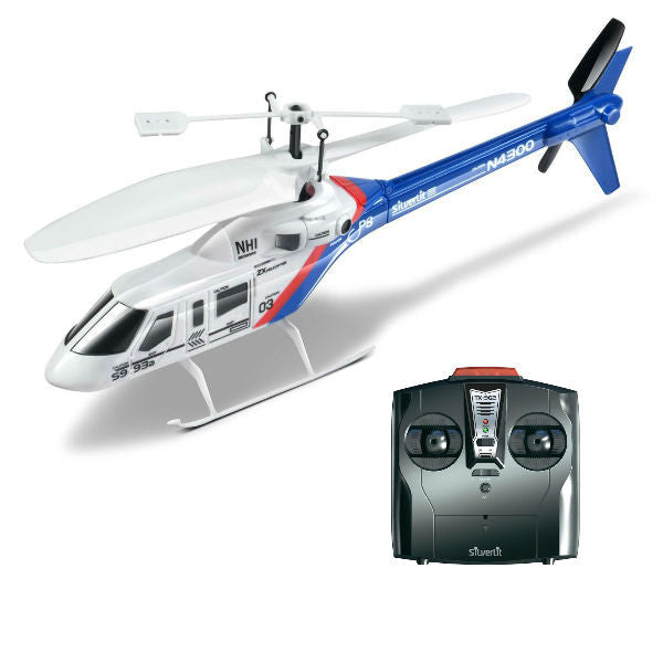 Silverlit Z-Bruce Remote Control Helicopter - Hobbytoys