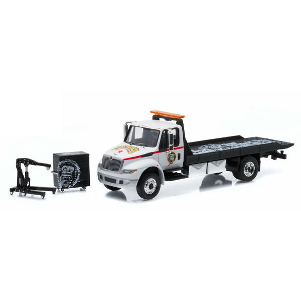 Greenlight 2013 International Durastar Flatbed Gas Monkey Garage 1/64 - Hobbytoys - 1