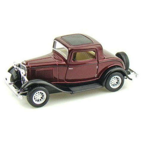 Kinsmart 1932 Ford 3-Window Coupe 1/34 Brown
