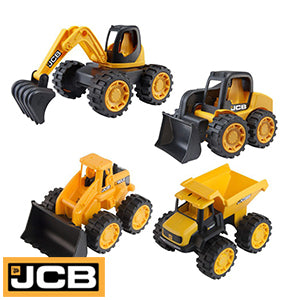 HTI JCB Mini trucks Set of 4