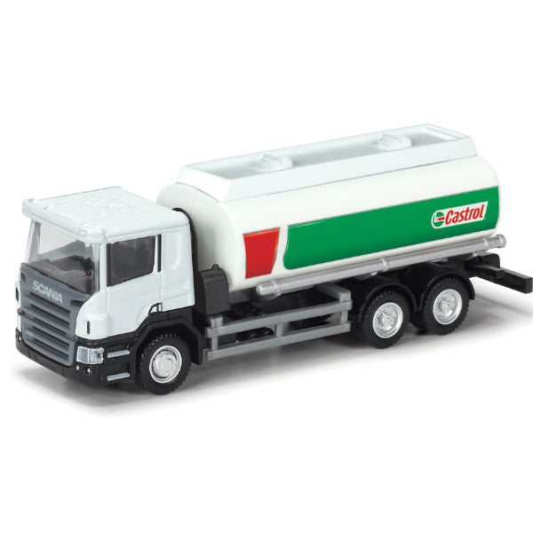 RMZ City Scania P-Series Castrol Oil Tanker 1/64 - Hobbytoys