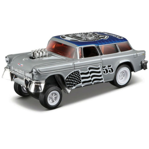 Maisto Max Grundy Outlaws 1955 Chevrolet Nomad Gasser 1/64
