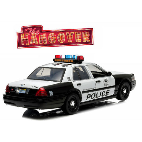 Greenlight 2000 The Hangover (2009) Ford Crown Victoria Police 1/18 - Hobbytoys - 2