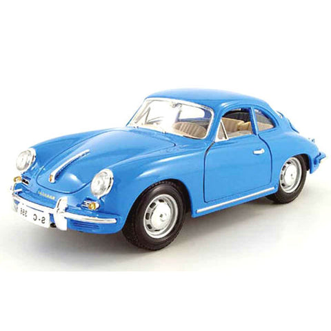 Bburago Porsche 356B Coupe 1961 1/18 Blue - Hobbytoys