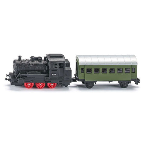 Siku Steam Engine With Passenger Carriage - Hobbytoys - 2