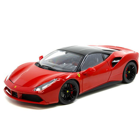 Bburago Ferrari 488 GTB Signature Series 1/18 Red - Hobbytoys - 1