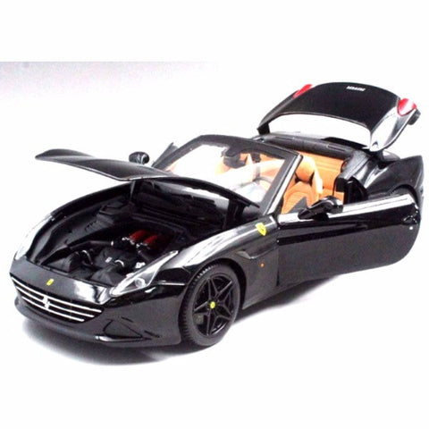 Bburago Ferrari California T Open Top Signature Edition 1/18 Black