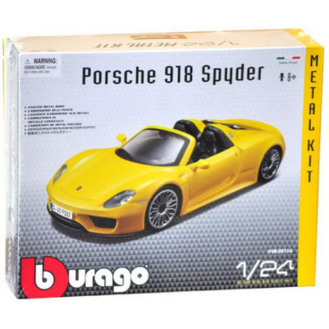 Bburago Porsche 918 Spyder 1/24 Assembly Kit
