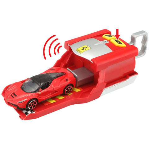 Bburago Ferrari Race & Play Car Launcher Red