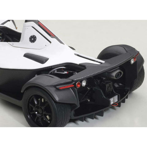 AUTOart BAC Mono 1/18 Metallic White - Hobbytoys - 2