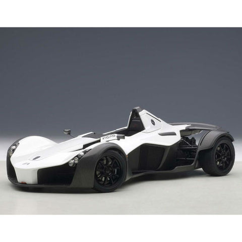 AUTOart BAC Mono 1/18 Metallic White - Hobbytoys - 1