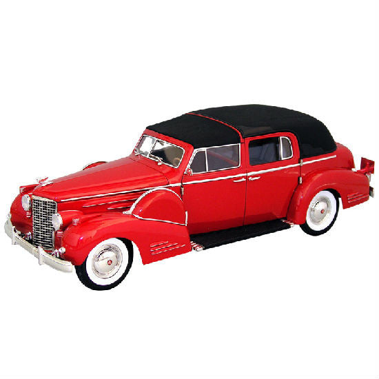 Signature Models 1938 Cadillac V 16 Fleetwood 1/18 - Hobbytoys - 1