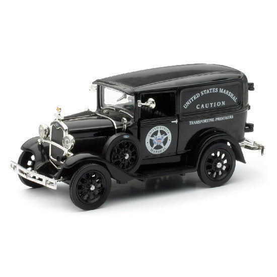 New-Ray 1931 US Marshall's Van Diecast Toy Vehicle - Hobbytoys