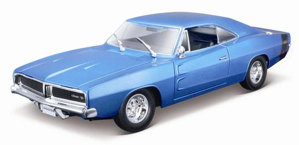Maisto 1969 Dodge Charger R/T 1/18 Blue