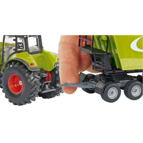 Siku Claas Tractor With Front Loader - Hobbytoys - 2
