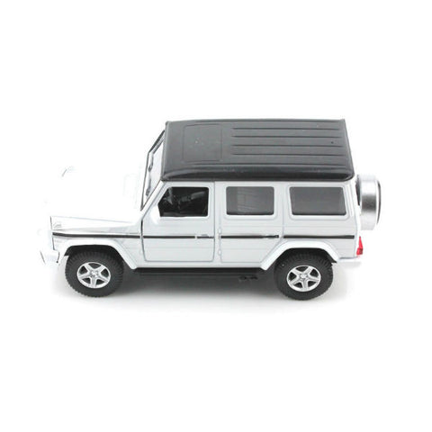 RMZ City Mercedes Benz G63 AMG W463 White - Hobbytoys - 2
