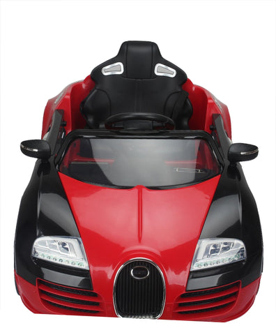 Brunte Bugatti 1188 Red colour Battery Operated Ride on car