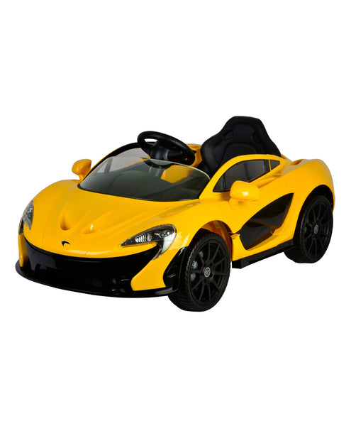 McLaren P1 Yellow colour Battery Operated Ride on car