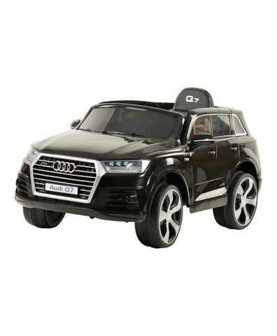 Audi Q7 Black Color Battery Operated Ride on Car